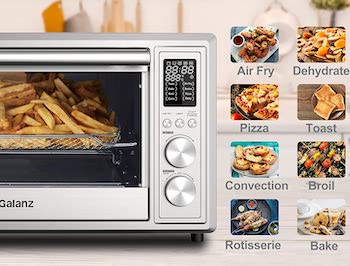 Galanz Digital Toaster Oven With Air Fry Review