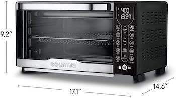Gourmia Air Fryer Toaster Oven Digital Review