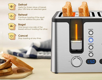 Hosome Stylish Toaster review