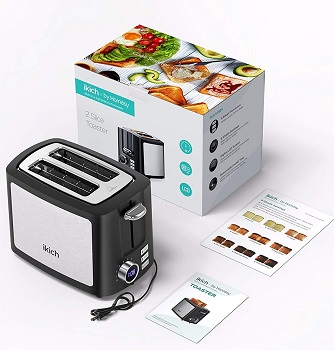 Ikich 2-Slice Fancy Toaster Review