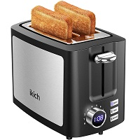 Ikich 2-Slice Fancy Toaster Rundown