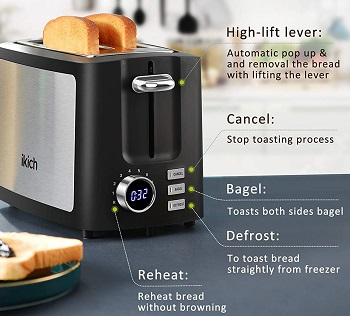 Ikich 2-Slice Fancy Toaster