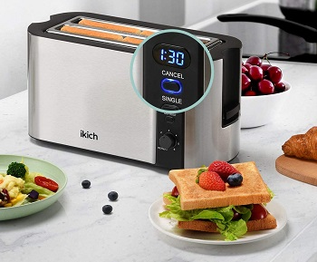 Ikich Long Fancy Toaster Review