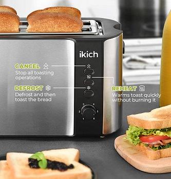 Ikich Narrow Toaster