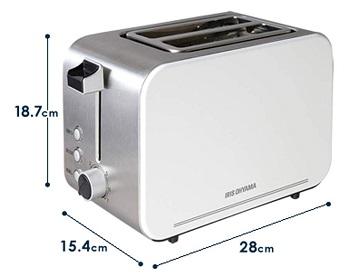 Iris Ohyama IPT-850-W Toaster