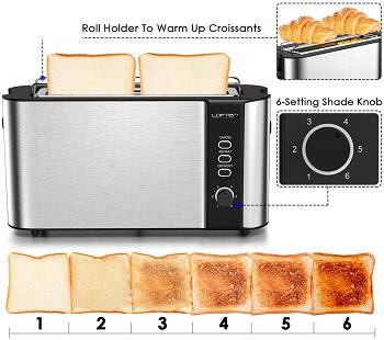 Lofter Long Slot Skinny ToasterReview