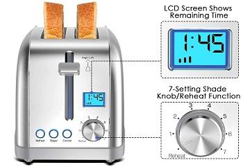Lofter MD180012 Fancy Toaster
