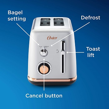 Oster 2097682 Nice Toaster
