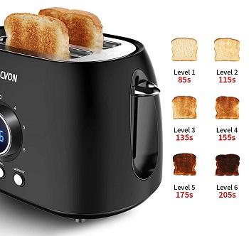 Sacvon 2-Slice Stylish Toaster review