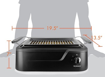 Tenergy Infrared Indoor Grill Review
