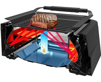 Tenergy Infrared Indoor Grill