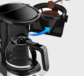 BEST AUTO SHUT OF 4 CUP Gevi Drip Coffee Maker