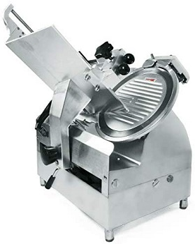 BEST AUTOMATIC: KWS MS-12A Automatic Meat Slicer