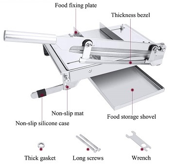 BEST BONE CUTTING: Moongianto XHH-13 Meat Slicer