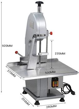 BEST COMMERCIAL SAW MACHINE: Rongelive Meat Slicer