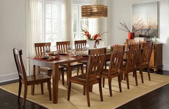 BEST FARMHOUSE A-America Toluca 12-Foot Dining Table