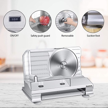 BEST FOOD CHEAP: Siontech Electric Meat Slicer