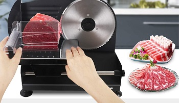 BEST FOR BEEF: Anescra Deli Meat Slicer For Home