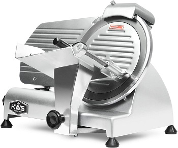 BEST FOR FOOD: KWS MS-10NS Commercial Meat Slicer
