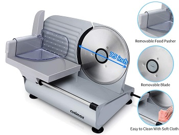BEST FOR HOME COLD MEAT CUTTER MACHINE