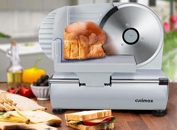 BEST FOR HOME: Cusimax CMFS-200 Food Slicer