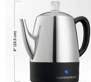 BEST OF BEST 4 CUP Coffee Percolator