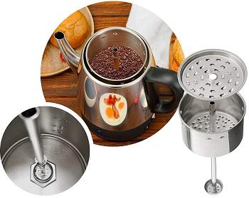 BEST OF BEST 4 CUP Gastrorag Coffee Percolator