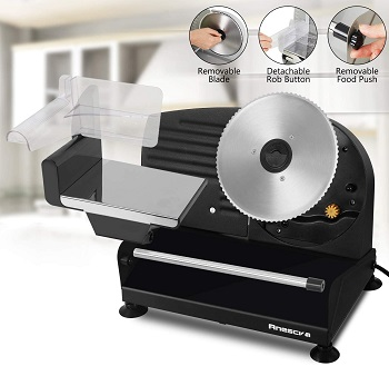 BEST OF BEST: Anescra Electric Food Slicer
