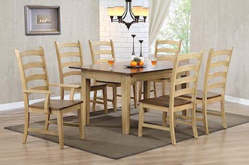 BEST OF BEST Sunset Trading Brook 12 Ft Dining Table