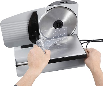 BEST PROFESSIONAL CHEAP: Zeny Electric Meat Slicer
