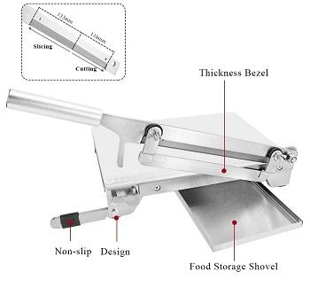 BEST SAW MACHINE: Moongiantgo KD0265 Meat Slicer