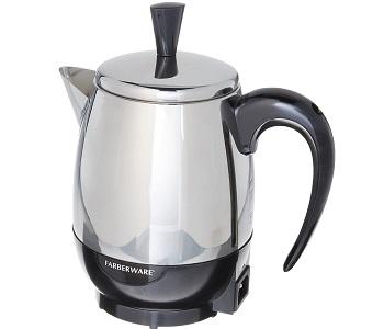 BEST STAINLESS STEEL 4 CUP Farberware Coffee Percolator