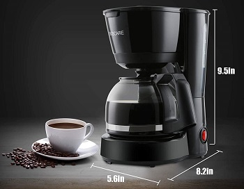 BEST TRAVEL 4 CUP Boscare Drip Coffee Maker
