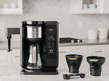 BEST WITH FROTHER 2IN1 Ninja CP301 Coffee Maker
