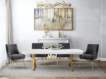 Best Big Modern 10-Seater Dining Table