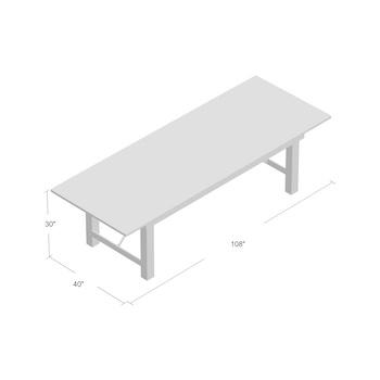 Best Folding 10-Person Farmhouse Loon Peak Table