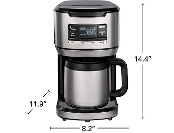 Best Front Fill 12 Cup Thermal Coffee Maker