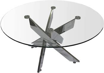 Best Glass Two-Chair Dining Table