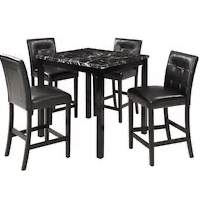 Best High-Top Marble Dining Table Set For 4 Rundown