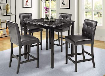 Best High-Top Marble Dining Table Set For 4
