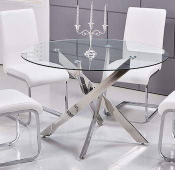 Best Master Furniture Mirage Dining Table