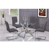 Best Modern Glass Dining Table Set For 4 Rundown