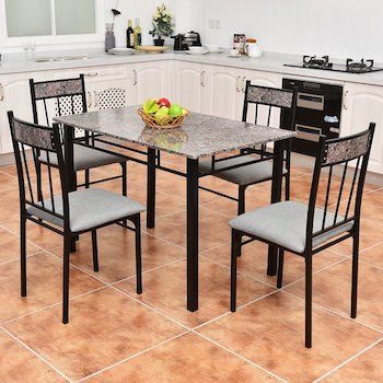 Best Modern Marble Dining Table Set For 4