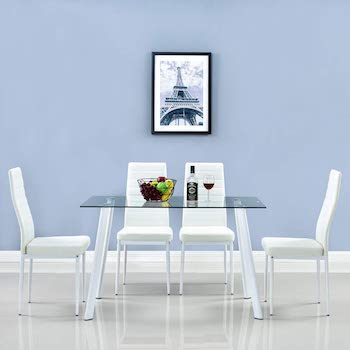 Best Of Best Glass Dining Set For 4