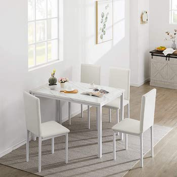 Best Of Best Marble Dining Table Set For 4