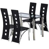 Best Rectangular Glass Top Dining Table Set 4 Seater Rundown