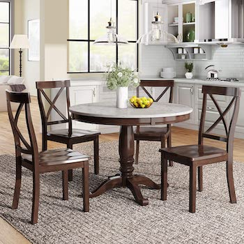Best Round Marble Dining Table Set For 4