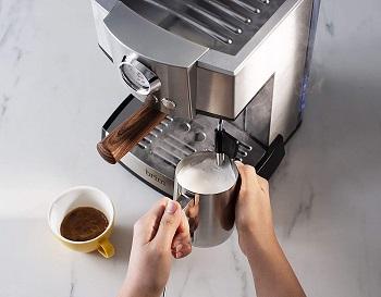 Best Stainless Steel 15 Bar Espresso Machine