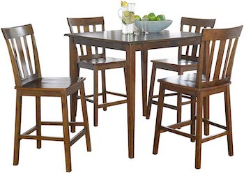 Best Tall High Top Dining Table Set For 4