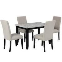 Best Top Marble Dining Table Set For 4 Rundown
